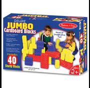 Melissa & Doug Melissa & Doug Deluxe Jumbo Cardboard Blocks 40pcs