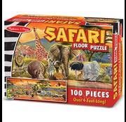 Melissa & Doug Melissa & Doug Safari Floor Puzzle 100pcs