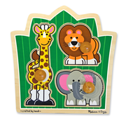 Melissa & Doug Melissa & Doug Jungle Friends Jumbo Knob Puzzle