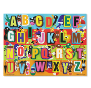 Melissa & Doug Melissa & Doug Jumbo ABC Chunky Puzzle