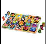 Melissa & Doug Melissa & Doug Jumbo Numbers Chunky Puzzle