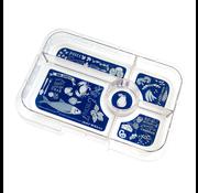 Yumbox YumBox Tapas 5 Food Tray Insert - Bon Appetite