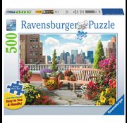 Ravensburger Ravensburger Rooftop Garden Large Format Puzzle 500pcs