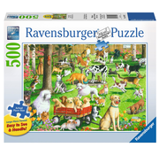Ravensburger Ravensburger At the Dog Park Large Format Puzzle 500pcs