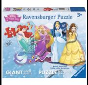 Ravensburger Ravensburger Disney Princess: Pretty Princesses Glitter Floor Puzzle 24pcs