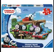 Ravensburger Ravensburger Thomas & Friends: Thomas' World Shaped Floor Puzzle 24pcs _