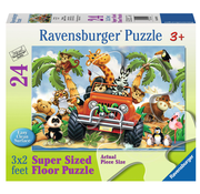 Ravensburger Ravensburger 4-Wheeling Floor Puzzle 24pcs