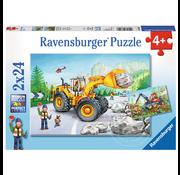 Ravensburger Ravensburger Diggers at Work Puzzle 2 x 24pcs
