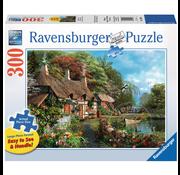 Ravensburger Ravensburger Cottage on a Lake Large Format Puzzle 300pcs