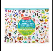 Melissa & Doug Melissa & Doug Celebrations, Seasons & More Sticker Collection