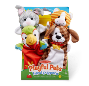 Melissa & Doug Melissa & Doug Playful Pets Hand Puppets