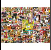 Cobble Hill Puzzles Cobble Hill Dogtown Puzzle 1000pcs