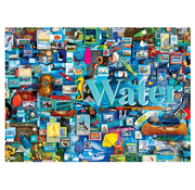 Cobble Hill Puzzles Cobble Hill Water: The Elements Collection Puzzle 1000pcs
