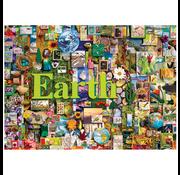 Cobble Hill Puzzles Cobble Hill Earth: The Elements Collection Puzzle 1000pcs