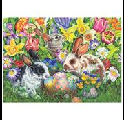 Cobble Hill Puzzles Cobble Hill Easter Bunnies Puzzle 500pcs