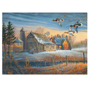 Cobble Hill Puzzles Cobble Hill Farmstead Flyby Puzzle 500pcs