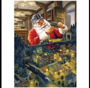 Cobble Hill Puzzles Cobble Hill Santa's Railway Puzzle 500pcs