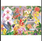 Cobble Hill Puzzles Cobble Hill Hummingbird Magic Puzzle 500pcs
