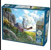 Cobble Hill Puzzles Cobble Hill Take Off Puzzle 500pcs