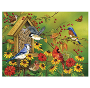 Cobble Hill Puzzles Cobble Hill Fall Feast Easy Handling Puzzle 275pcs