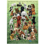 Cobble Hill Puzzles Cobble Hill Puppy Love Family Puzzle 350pcs