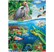 Cobble Hill Puzzles Cobble Hill Earth Day Family Puzzle 350pcs
