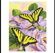Royal & Langnickel Royal & Langnickel Painting by Numbers Swallowtail Butterflies