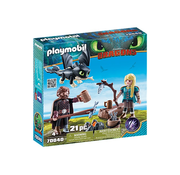 Playmobil Playmobil How to Train Your Dragon III Hiccup and Astrid Playset