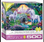 Eurographics Eurographics Unicorns in Fairy Land Large Pieces Family Puzzle 500pcs