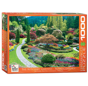 Eurographics Eurographics Butchart Gardens - Sunken Garden Puzzle 1000pcs