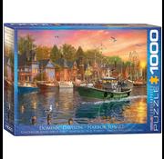 Eurographics Eurographics Harbor Sunset Puzzle 1000pcs