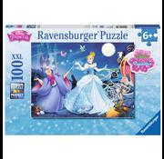 Ravensburger Ravensburger Disney Princess: Adorable Cinderella Glitter Puzzle 100pcs XXL