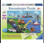 Ravensburger Ravensburger A Day on the Job Floor Puzzle 24pcs
