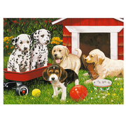 Ravensburger Ravensburger Puppy Party Puzzle 60pcs