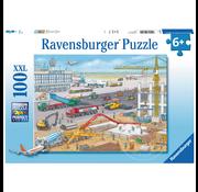 Ravensburger Ravensburger Construction at the Airport Puzzle 100pcs XXL