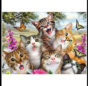 Ravensburger Ravensburger Friendly Felines Puzzle 200pcs XXL