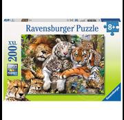 Ravensburger Ravensburger Big Cat Nap Puzzle 200pcs XXL