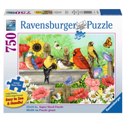 Ravensburger Ravensburger Bathing Birds Large Format Puzzle 750pcs