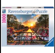Ravensburger Ravensburger Bicycles in Amsterdam Puzzle 1000pcs