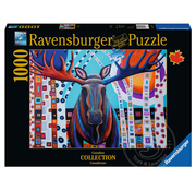 Ravensburger Ravensburger Winter Moose Puzzle 1000pcs