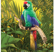 Folkmanis Folkmanis Green Macaw Parrot Puppet