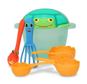 Melissa & Doug Melissa & Doug Seaside Sidekicks Sand Baking Set