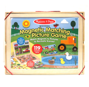 Melissa & Doug Melissa & Doug Wooden Magnetic Matching Picture Game