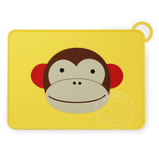 SkipHop Zoo Fold & Go Silicone Placemat - Monkey