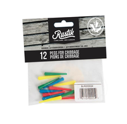 Family Games Rustik 12 Pegs for Cribbage