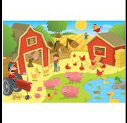 Cobble Hill Puzzles Cobble Hill Pig Pen Tray Puzzle 35pcs