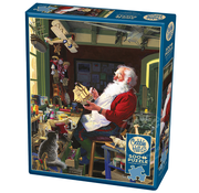 Cobble Hill Puzzles Cobble Hill Santa's Workbench Puzzle 500pcs