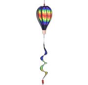 """Double Cheveron Hot Air Balloon Hanging Spinner 12"""""""