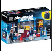Playmobil Playmobil NHL Locker Room Play Box