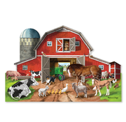 Melissa & Doug Melissa & Doug Busy Barn Floor Puzzle 32pcs